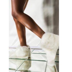UGG Amary Faux Fur Slipper Bootie Women